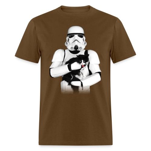 Stormtrooper w/ Cat 3 - Men's T-Shirt
