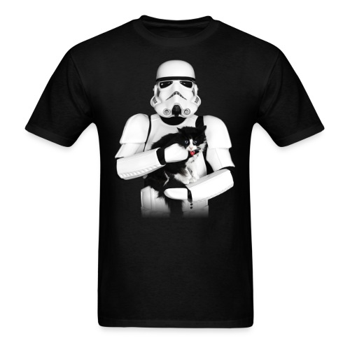 Stormtrooper w/ Cat 3 - Men's T-Shirt