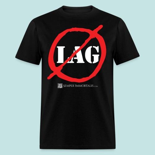 No Lag (white) - Men's T-Shirt