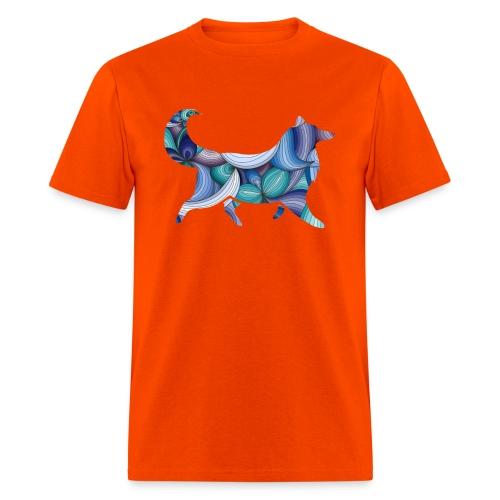 Psychedelic Collie - Men's T-Shirt