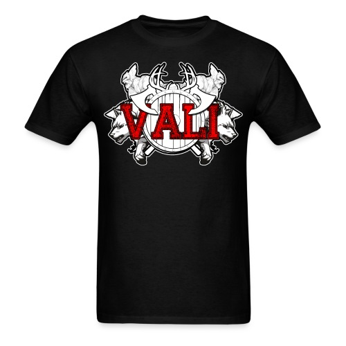Vali Logo 2 - Men's T-Shirt