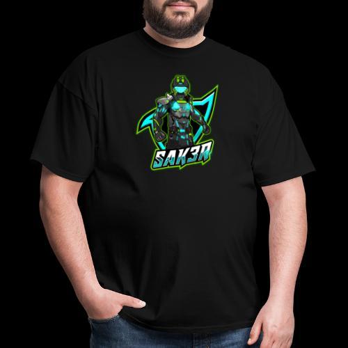 Saker Official Logo - Men's T-Shirt