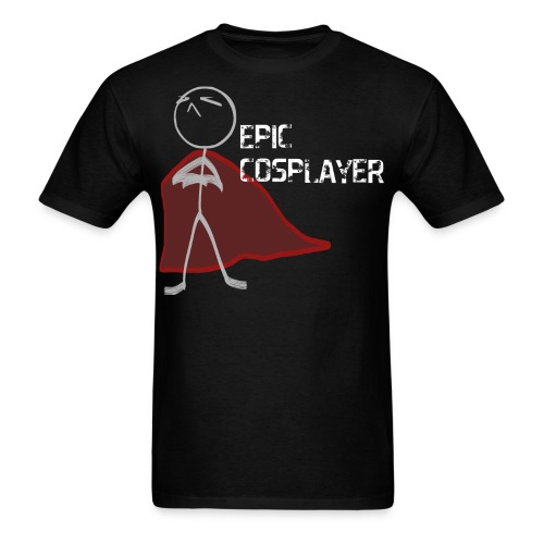 epic cosplayer navy blue clothes - Men's T-Shirt