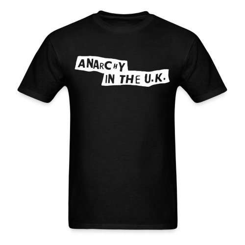 anarchy in the uk - Men's T-Shirt