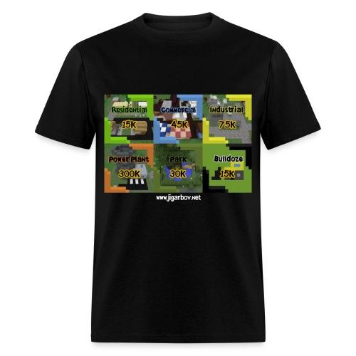 Simburbia Plot Light Web - Men's T-Shirt