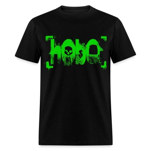 hoboliferendergreenlarge - Men's T-Shirt