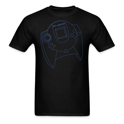 Dreamcast Controller Blueprints - Men's T-Shirt