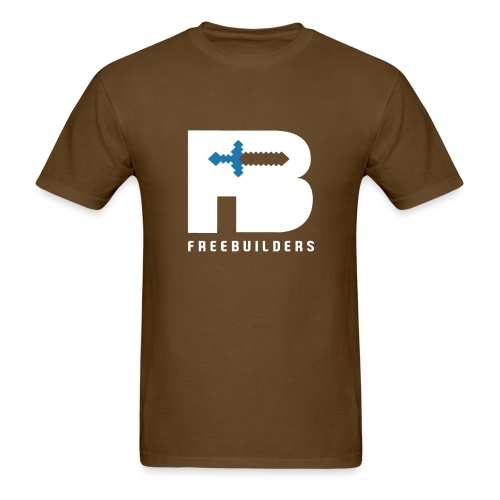 Freebuilders Distinct - Men's T-Shirt