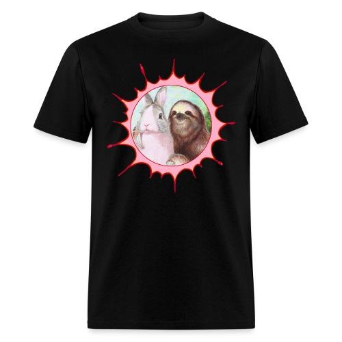 SHIRTPinkBluefix png - Men's T-Shirt