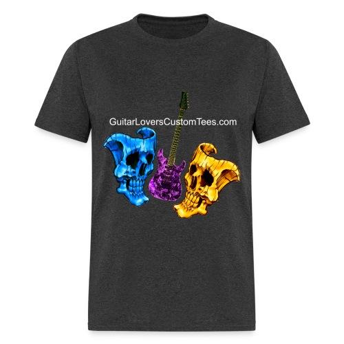 Guitar and Skull Masks - Men's T-Shirt