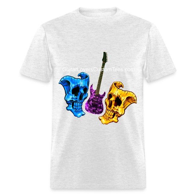 Guitar and Skull Masks