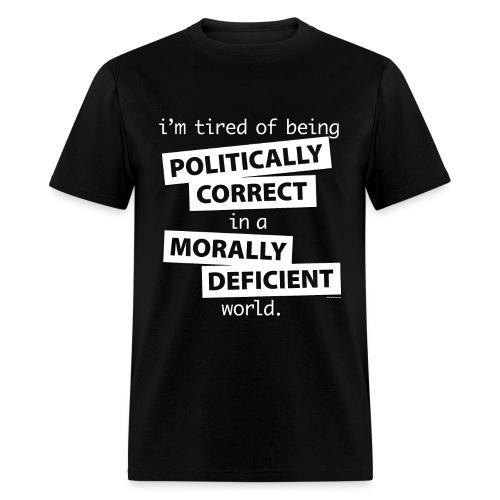 un Politcally Correct - Men's T-Shirt