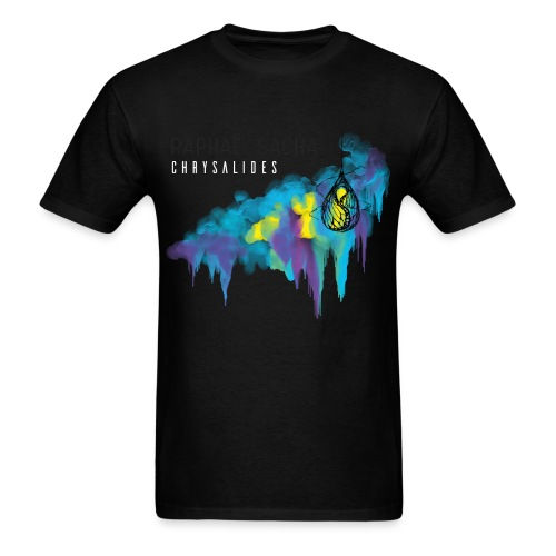 Chrysalides1 noir/blanc - Men's T-Shirt