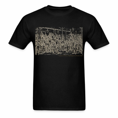 diponegoro original 3000 pix text antik - Men's T-Shirt