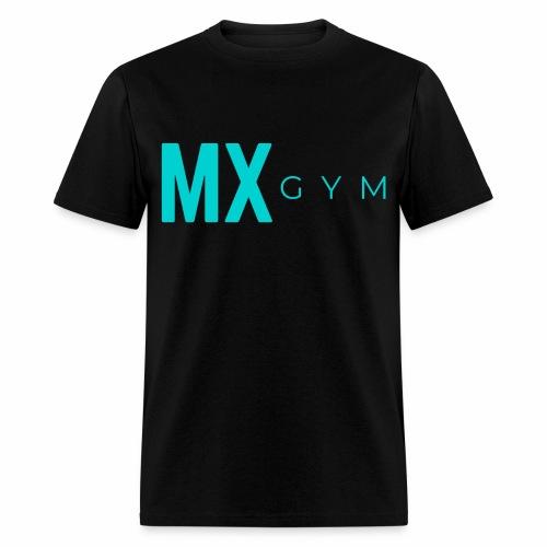 MX Gym Minimal Long Teal - Men's T-Shirt