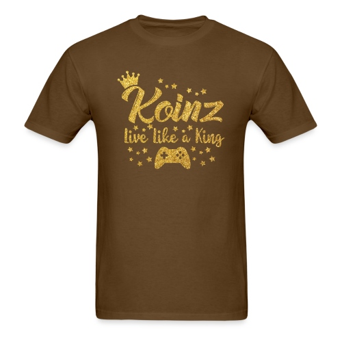 Koinz Sparkly Gold - Men's T-Shirt