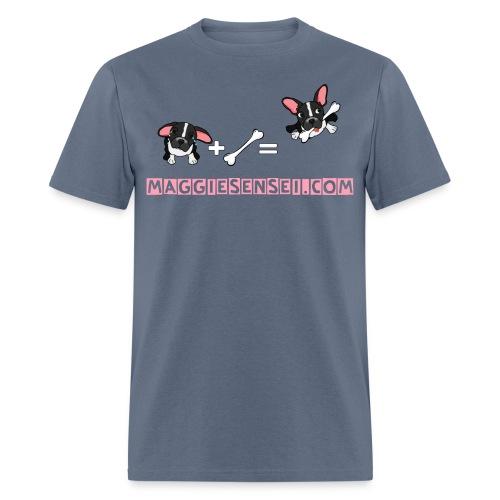 dog red 2 - Men's T-Shirt