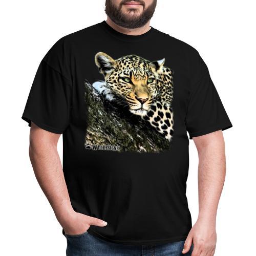 Leopard Cutout - Men's T-Shirt