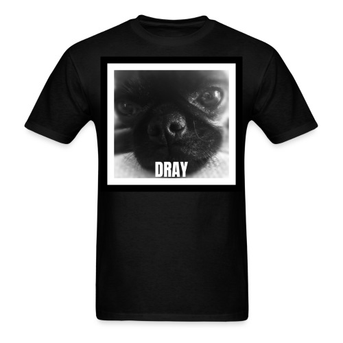 Drayconic Dog Frame Design - Men's T-Shirt