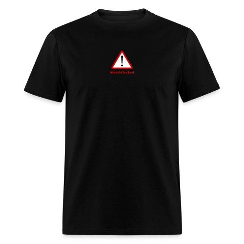 Warning I m Very Smart - Men's T-Shirt