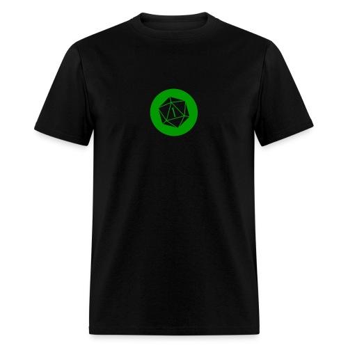 UnNatural Ones - Critical Miss Logo - Men's T-Shirt