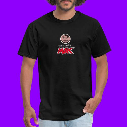 SarcasticMax cola beverage logo - Men's T-Shirt
