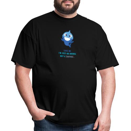 Baby Shark - Save Animals - Men's T-Shirt