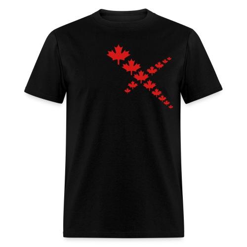 Maple Leafs Cross - Men's T-Shirt