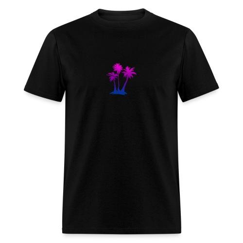 Aesthetic Palm Trees - Men's T-Shirt