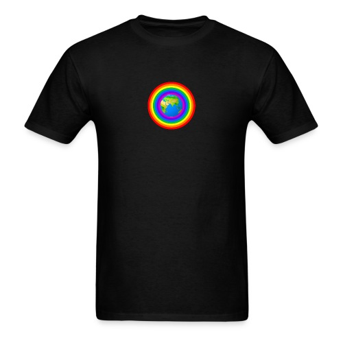 Earth rainbow protection - Men's T-Shirt