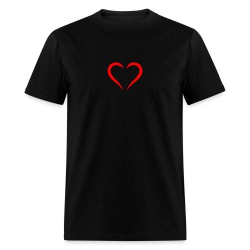 open heart - Men's T-Shirt