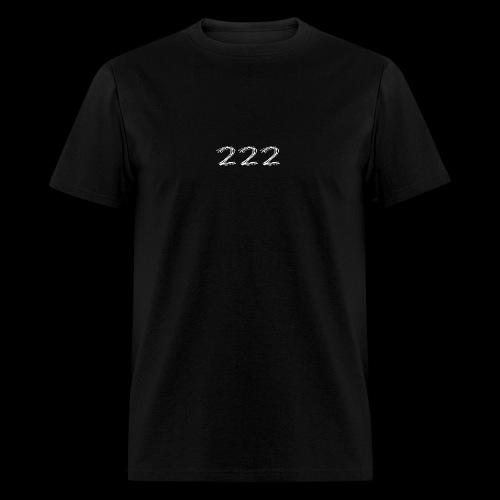 222 Chalk Style Pocket Logo - Men's T-Shirt