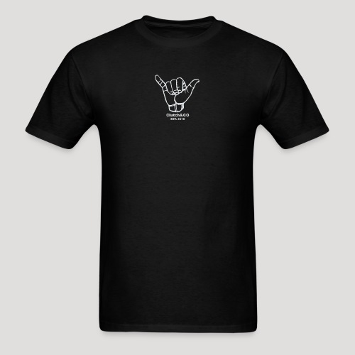 Grey Shaka for Black Clothing - Men's T-Shirt