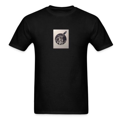 Wolf and Eagle - Men's T-Shirt