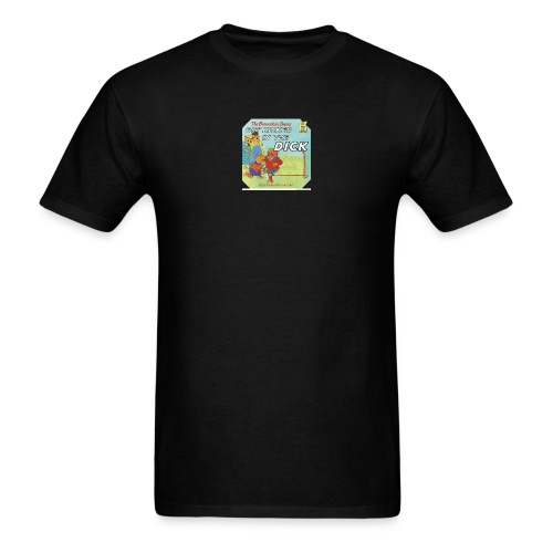 kicked in the dick - Men's T-Shirt