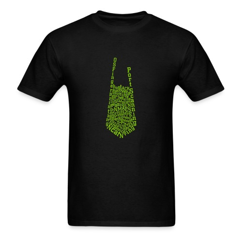 Nmap Tie - Men's T-Shirt