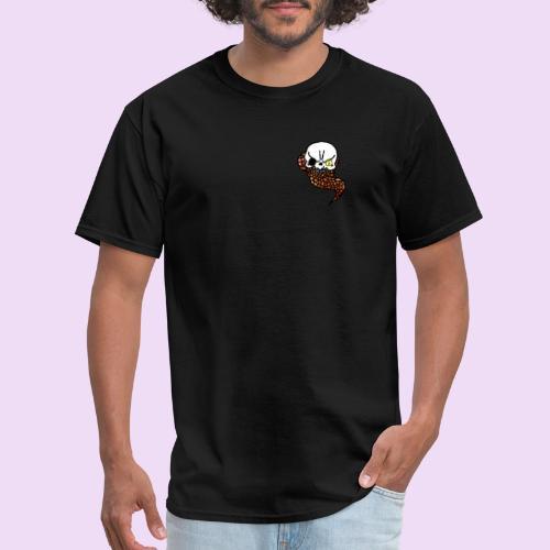 Skull & Snake - Men's T-Shirt