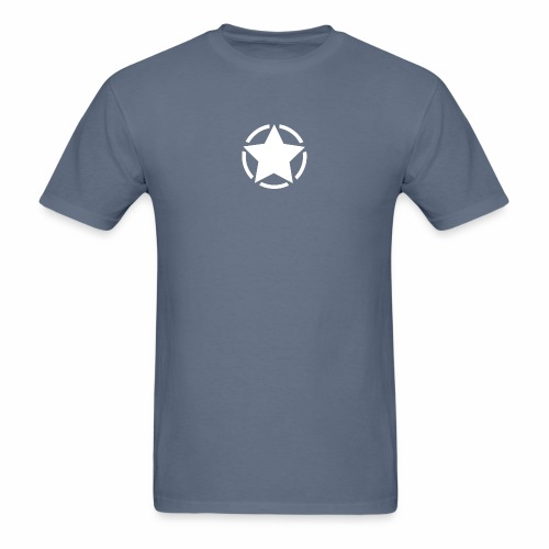 Staff starr 5pt white 14 16 - Men's T-Shirt