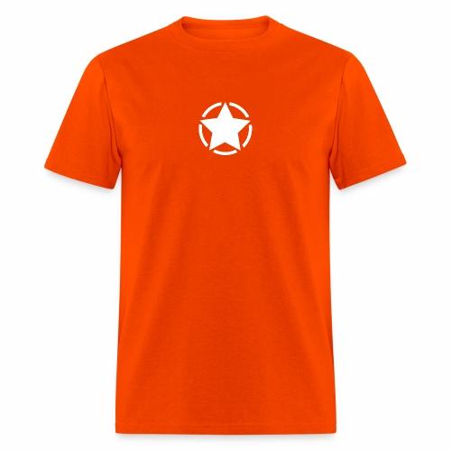 Staff starr 5pt white 14 16 - Men's T-Shirt