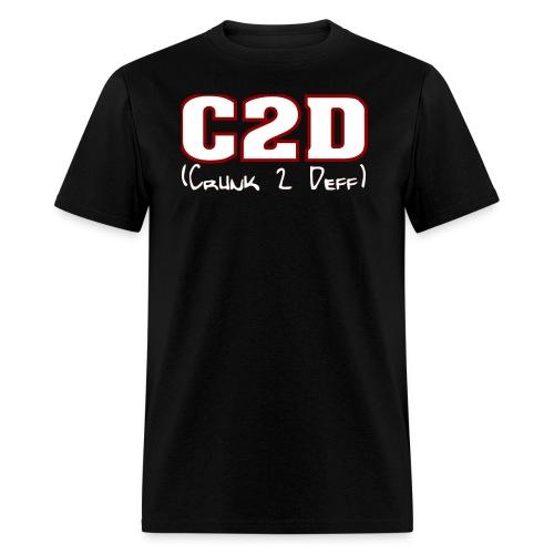 C2D Logo png - Men's T-Shirt