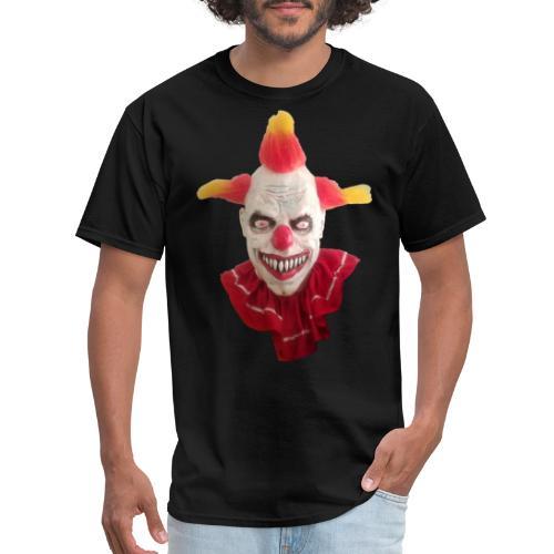 Wacky Alex Clown Head - Men's T-Shirt
