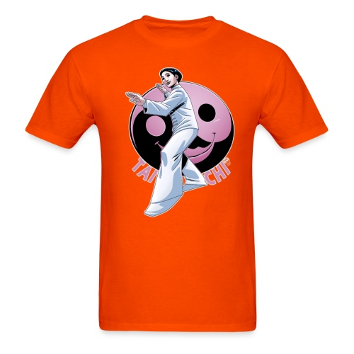 Tai Chi Nancy Hellman inspired design - Men's T-Shirt