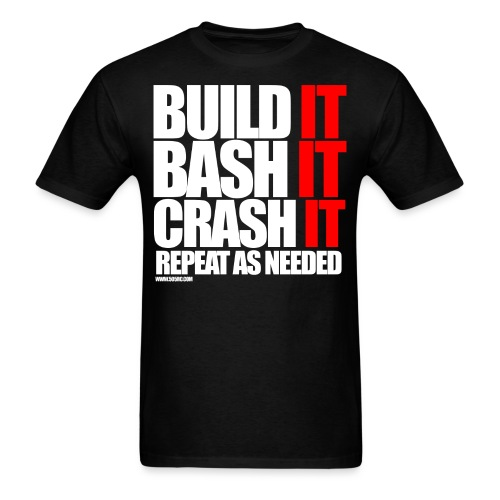 Build It Bash It png - Men's T-Shirt