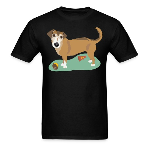 School Spirit and Snacks - Men's T-Shirt