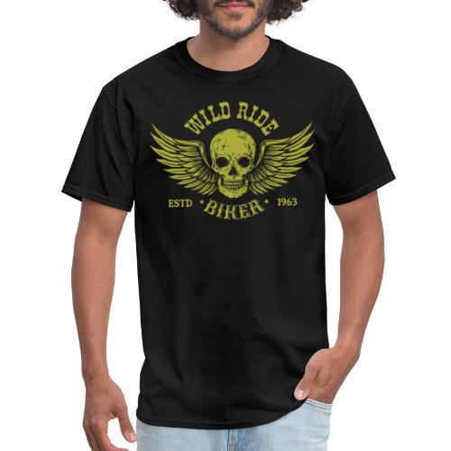 wild rider biker - Men's T-Shirt