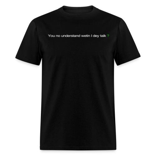 talk - Men's T-Shirt