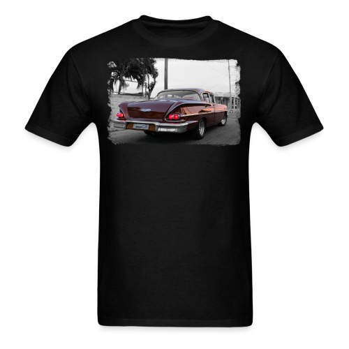 wine red car - Men's T-Shirt