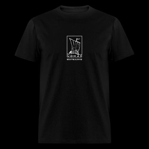 Nomad Boatbuilding Logo - Men's T-Shirt