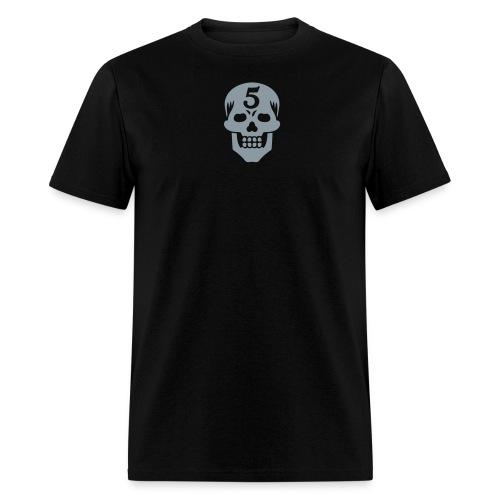Operator 5 Skull Metallic - Men's T-Shirt