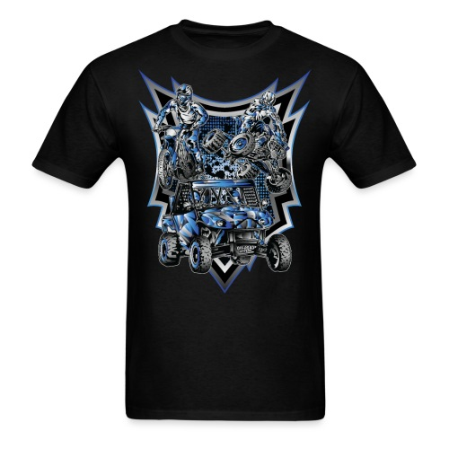 Extreme Life Style Blue - Men's T-Shirt